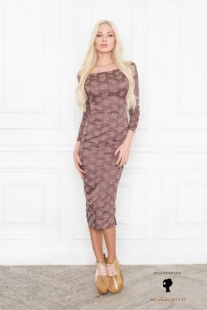 bella-potemkina-fall-winter-2014-2015-brown-office-dress