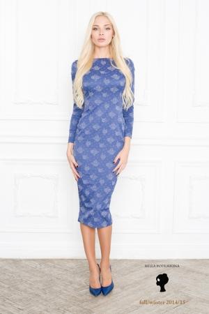 bella-potemkina-fall-winter-2014-2015-dark-blue-dress