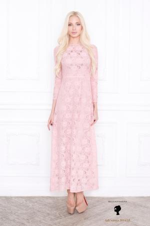 bella-potemkina-fall-winter-2014-2015-pink-long-dress