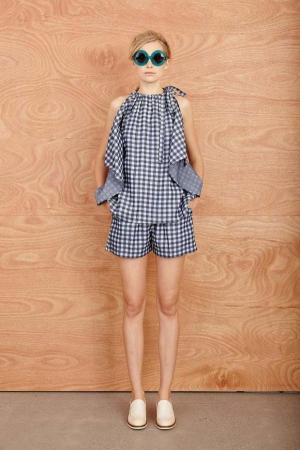 karen-walker-resort-2014-checked-bloude-without-sleeves
