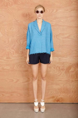 karen-walker-resort-2014-turquoise-jacket