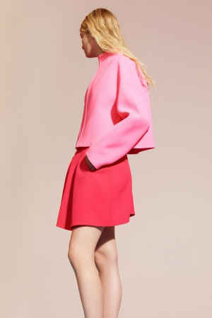 kenzo-spring-summer-resort-2014-pink-jacket-mini-skirt