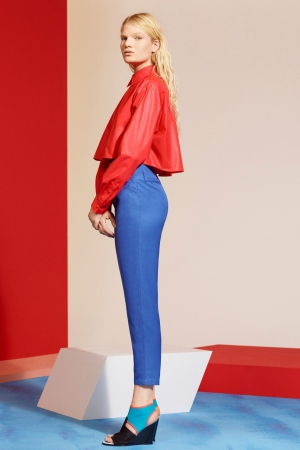 kenzo-spring-summer-resort-2014-red-coat-blue-pants