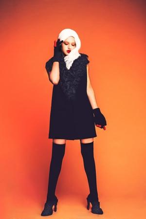 ksenia-kireeva-autumn-winter-2013-2014-black-dress-with-fur