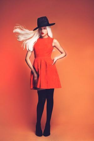 ksenia-kireeva-autumn-winter-2013-2014-orange-dress