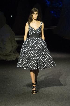 philipp-plein-ss-15-polka-dott-dress