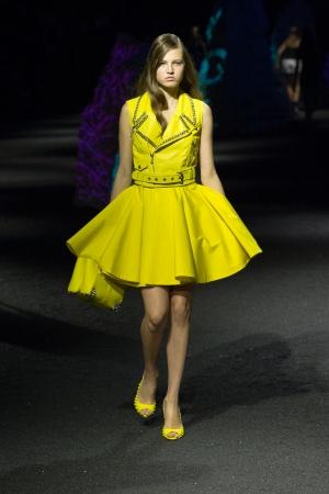 philipp-plein-ss-15-yellow-dress