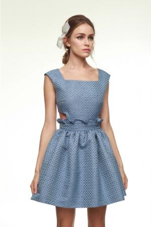 julia-kalmanovich-spring-summer-2014-blue-baby-doll-dress