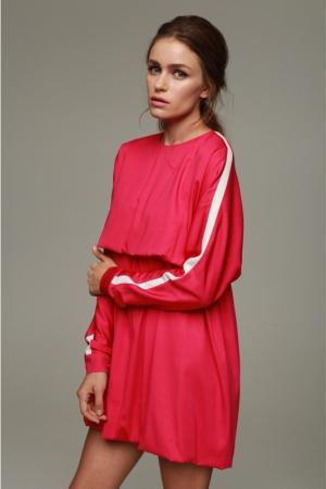 julia-kalmanovich-spring-summer-2014-pink-tennis-dress