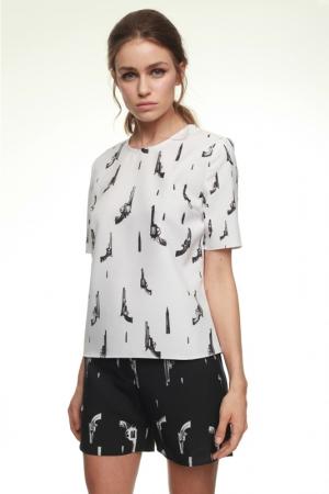 julia-kalmanovich-spring-summer-2014-pistol-print-top-shorts
