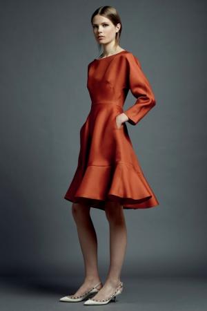 valentino-resort-2013-12-orange-dress