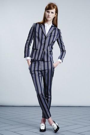 viktor-rolf-resort-2014-stripe-grey-costume
