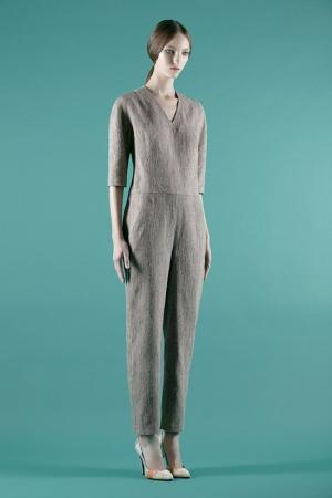 vika-gazinskaya-spring-summer-2014-brown-paper-jumpsuit