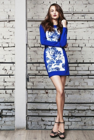 a-Dasha-gauser-fall-winter-2012-2013-blue-dress-with-gzhel-print