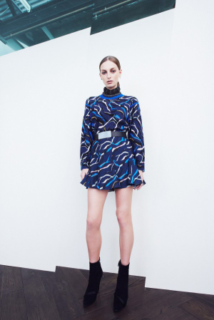 Camilla-and-Marc-Fall-Winter-2013-2014-Ready-To-Wear-marine-mini-dress