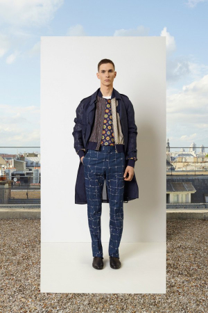 Jean-Paul-Gaultier-Spring-Summer-2014-Menswear-checked-denim-trousers