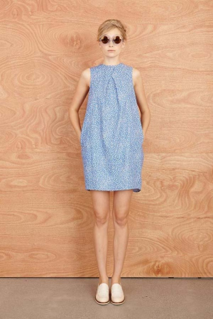 Karen-Walker-Resort-2014-dot-print-dress