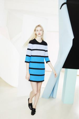 Sonia-by-Sonia-Rykiel-Resort-2014-blue-striped-dress