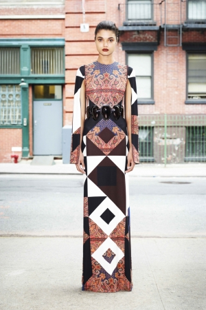 givenchy-spring-summer-2013-colorful-dress