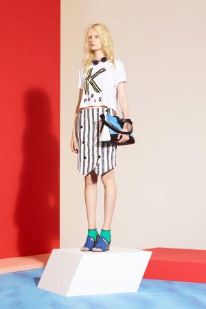 kenzo-spring-summer-resort-2014-stripes-skirt